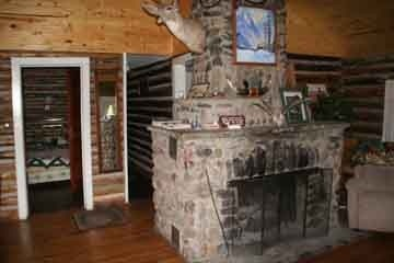 Rendezvous fireplace